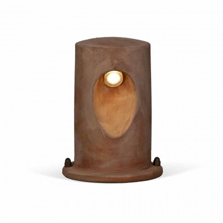 Outdoor floor lamp in colored clay U-Boat – Toscot