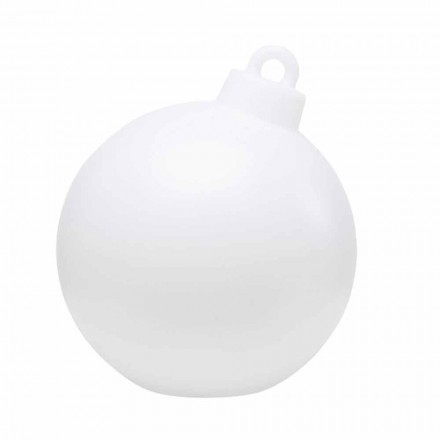 Indoor or Outdoor Decor Lamp Red, White Christmas Ball - Pallastar