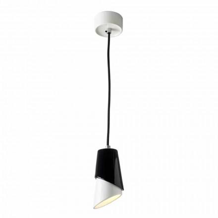 Design suspension lamp in ceramic produced in Italy Asia