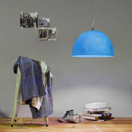 Design suspension lamp In-es.artdesign H2o Colored Nebulite