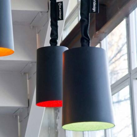Suspension design lamp In-es.artdesign Paint Resin blackboard