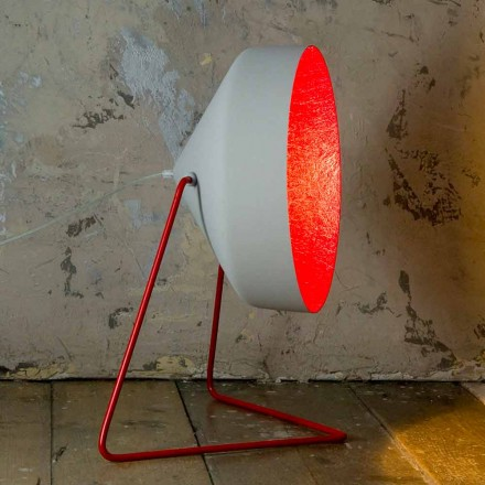 Design floor lamp In-es.artdesign Cyrcus F Painted concrete