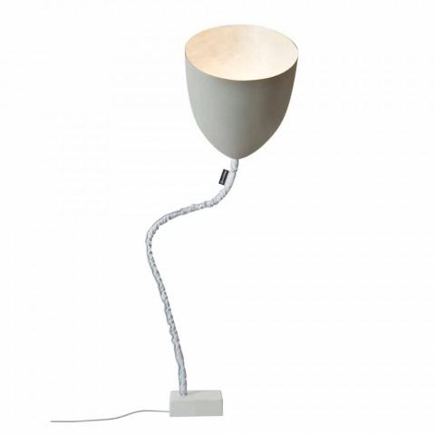 Design floor lamp In-es.artdesign Flower Painted cement