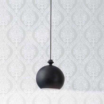 Modern ceramic pendant light I Lustri 5 -1 output canopy