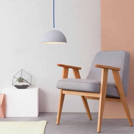 Pendant lamp in laprene In-es.artdesign Pop 1 modern