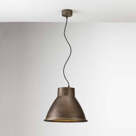 Designer pendant light made of iron Loft Medium Il Fanale