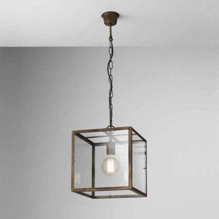 Industrial style iron pendant lamp London Il Fanale