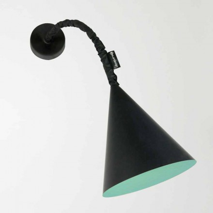 Modern wall lamp In-es.artdesign Jazz with resin blackboard