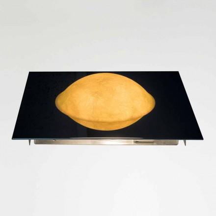 Modern wall lamp In-es.artdesign Washmachine in nebulite