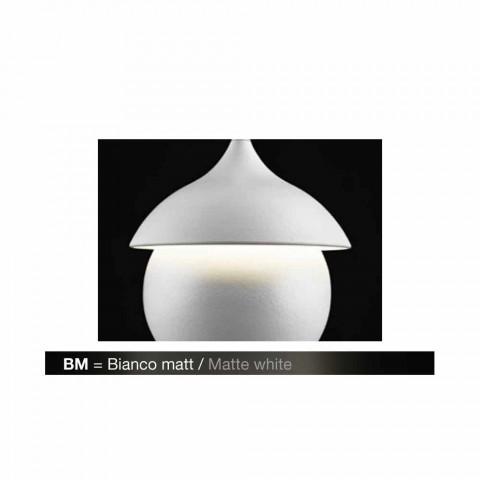 Modern lamp hanging ceramic The Lustri 9