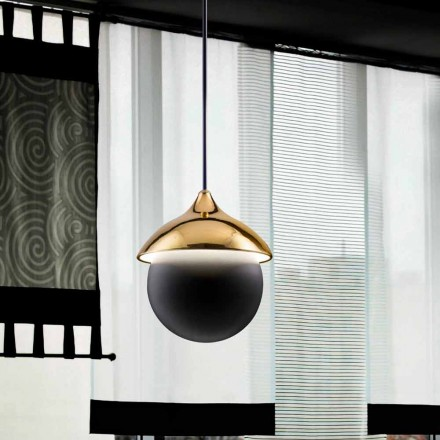 Contemporary pendant light I Lustri 9 by Aldo Bernardi