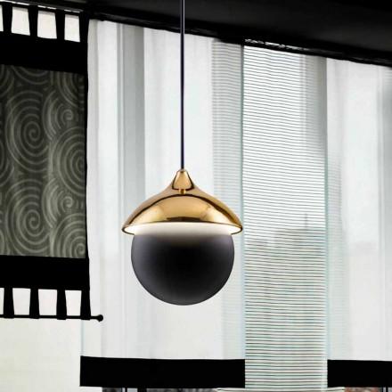Contemporary pendant light I Lustri 9 by Aldo Bernardi