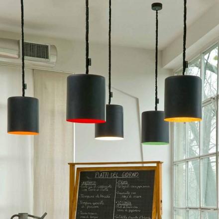 Modern pendant lamp In-es.artdesign Bin Resin blackboard