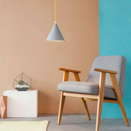 Modern pendant lamp In-es.artdesign Pop 2 laprene colored