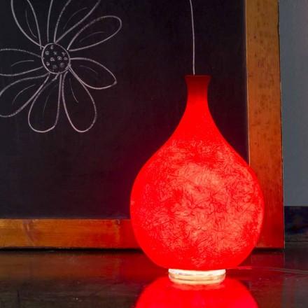 Modern table lamp In-es.artdesign Luce2 light in nebulite