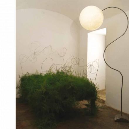 Modern nebulite floor lamp in-es.artdesign Luna H210cm