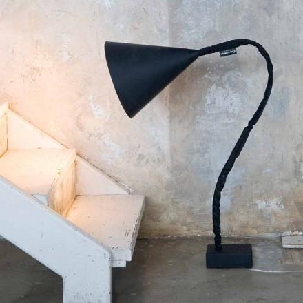 Modern floor lamp In-es.artdesign Flower Resin blackboard