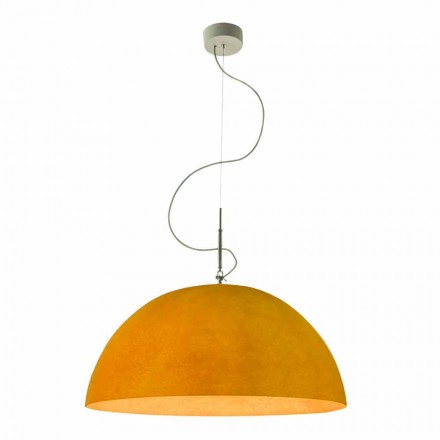 In-es.artdesign Half Moon Nebulite modern suspension lamp