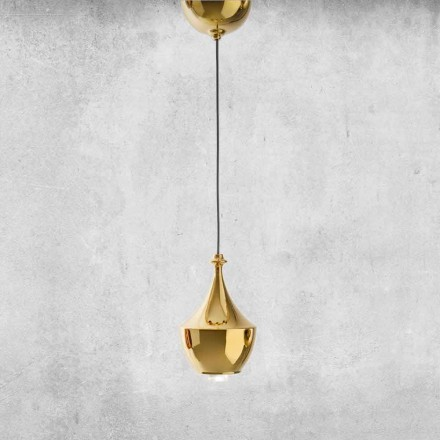 LED Suspended Ceramic Lamp Made in Italy - Lustrini L3 Aldo Bernardi