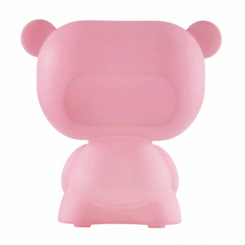 Slide Pure colored table lamp bear made in Italy