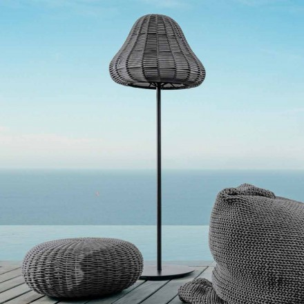 Floor Lamp with modern desing Jackie by Talenti in synthetic cord