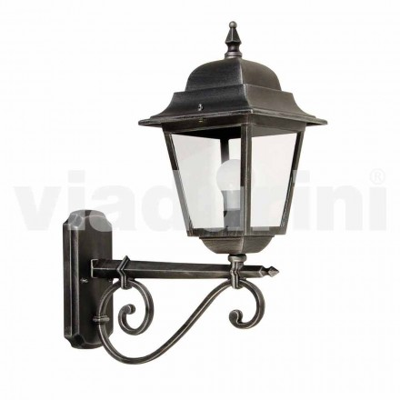 Outdoor wall lamp made with aluminum,  made in Italy, Aquilina