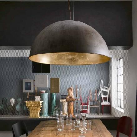 Italian rustic style pendant light Galileo Ø80 cm Il Fanale