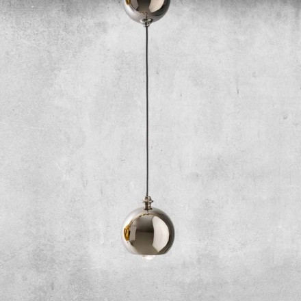 Modern Suspended Lamp in Ceramic Made in Italy - Lustrini L5 Aldo Berrnardi