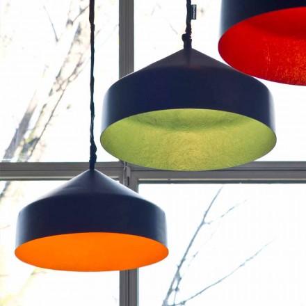 Designer hanging lamp In-es.artdesign Cyrcus Resin blackboard