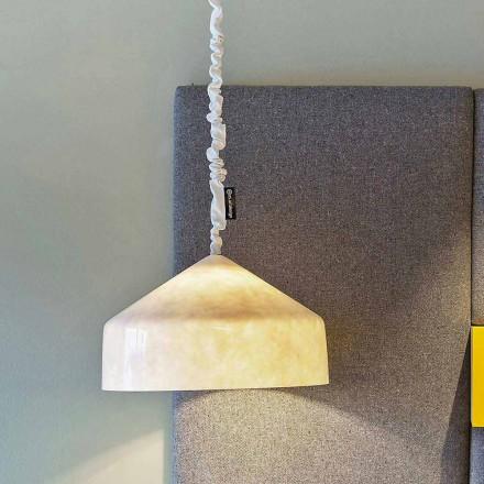 Suspended design lamp In-es.artdesign Cyrcus Nebula in nebulite