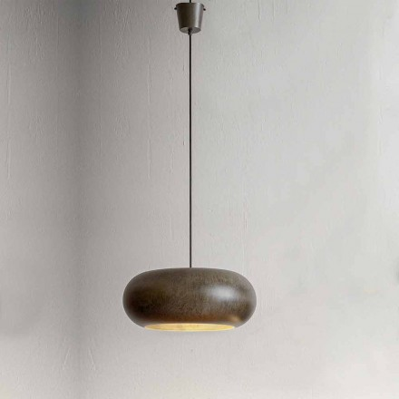 Suspended Lamp in Steel Diameter 500 mm - Materia Aldo Bernardi