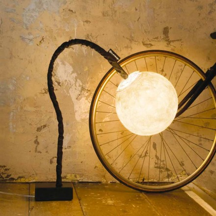 Flexible floor-standing lamp In-es.artdesign Micro Luna nebulite