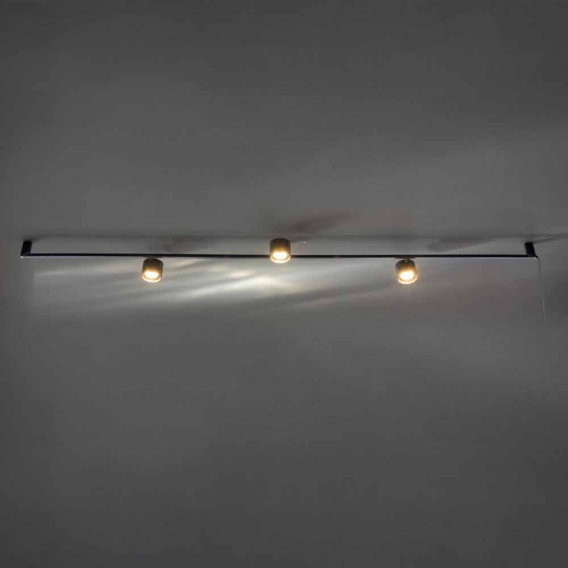 Artisan Design Chandelier with 3 Adjustable Lights Made in Italy - Pamplona