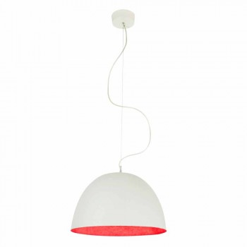 Modern design chandelier In-es.artdesign H2o in colored nebulite