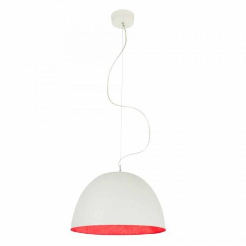Modern design chandelier In-es.artdesign H2o in colored nebulite