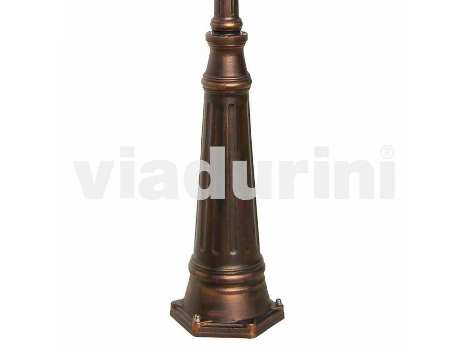 Anika classic aluminum garden lamp made in Italy