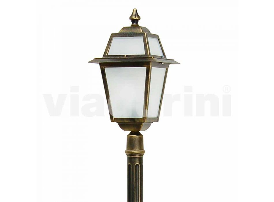 Streetlight for classic outdoor made in Italy, Kristel
