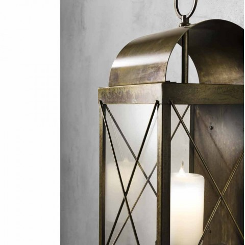 large lantern outdoor ground with candle Il Fanale