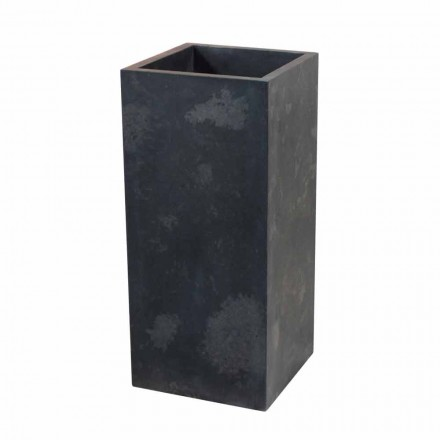 Freestanding natural black stone washbasin Balik