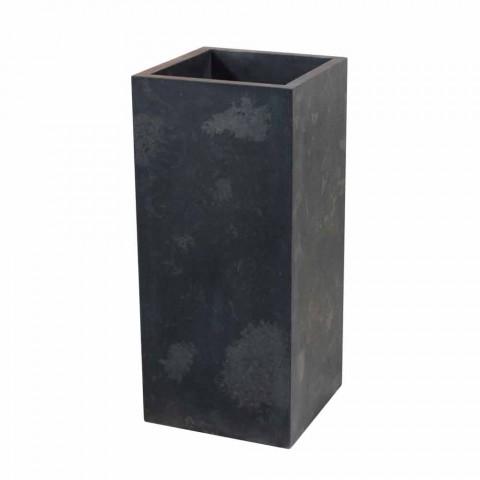 Washbasin Column Stone Natural Black Balik