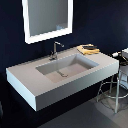 Design modern pendant sink in Luxolid made 100 % in Italy, Ruffano