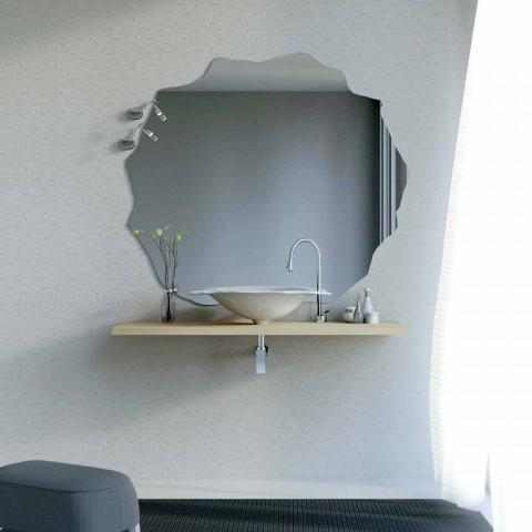 Washbasin modern design support in the shape of leaf Faruglium