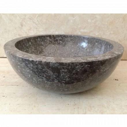 Grey natural stone countertop washbasin Levi