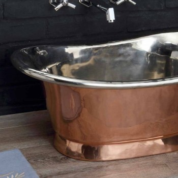 Sink bathroom to support copper and white iron Cala