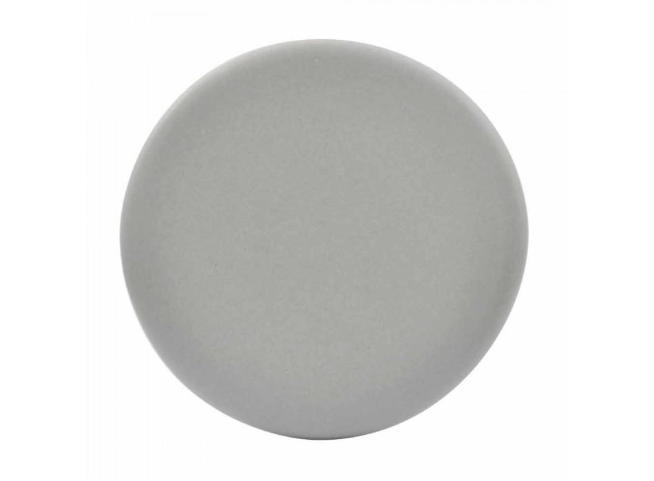 Ceramic washbasin countertop modern design made in Italy Sun 65x40 cm