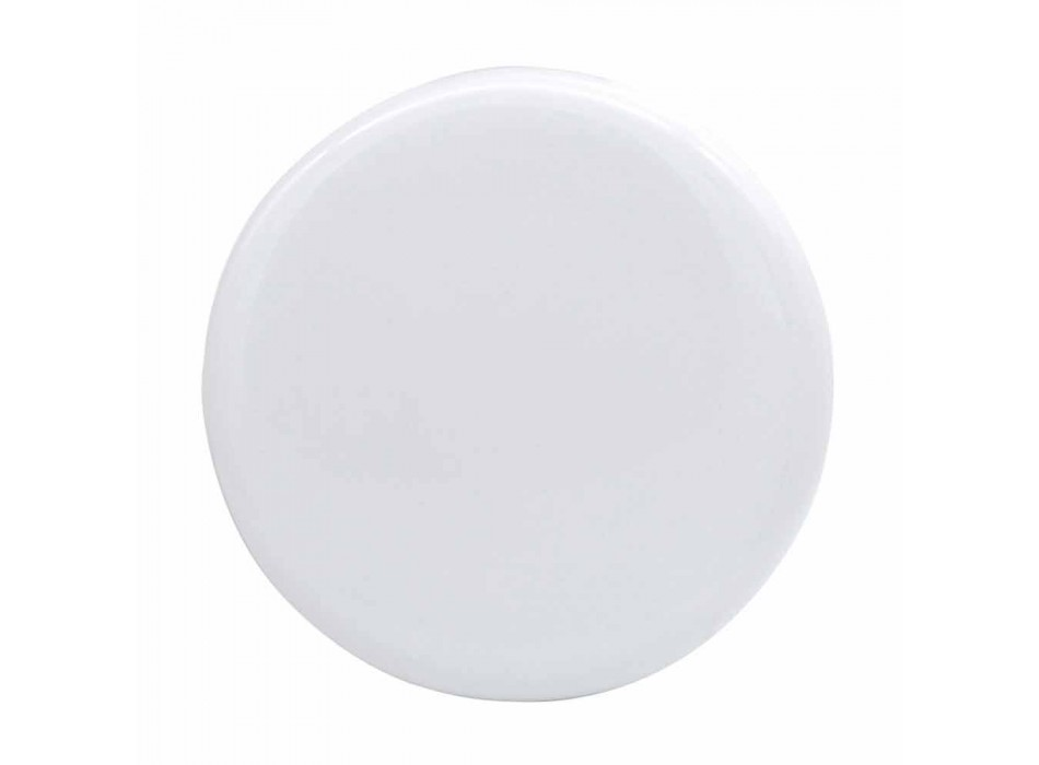 Modern design ceramic countertop washbasin made in Italy Sun 65x40 cm
