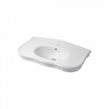 Washbasin with Legs or Without Ceramic L 110cm, by Design Avise