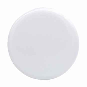 Countertop washbasin 37x37cm in ceramic made in Italy Star, modern design