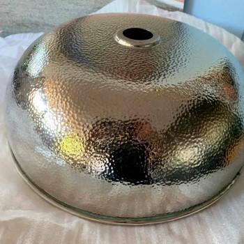 Bowl Shape Countertop Washbasin in Nickel-Copper Finish - Babaevo