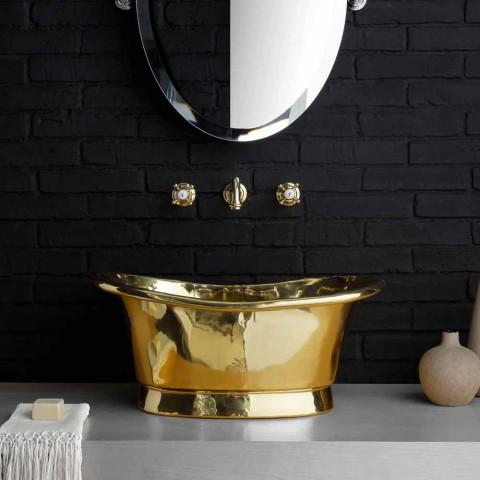 Fully brass Calla design support washbasin